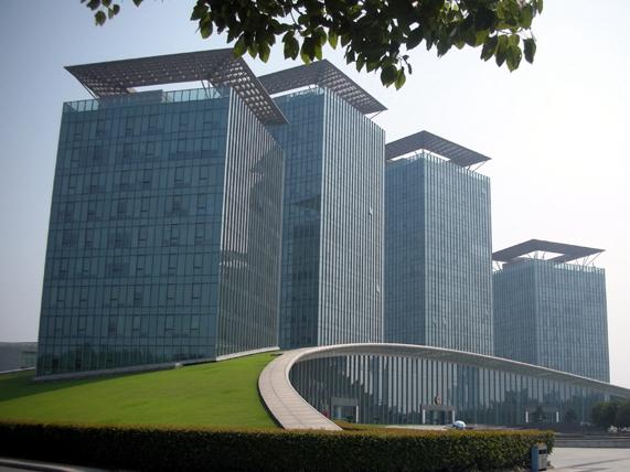 浙江长兴县政府办公楼