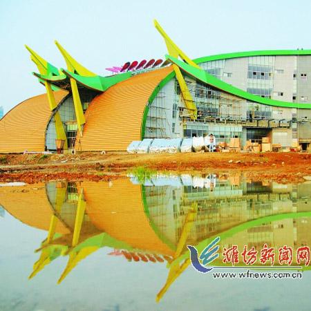 山东潍坊市民文化艺术中心