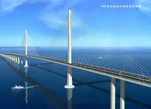 杭州湾跨海大桥 -- 建筑畅言网