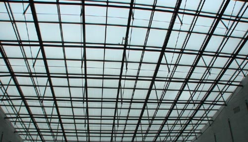钢架结构车库详图
