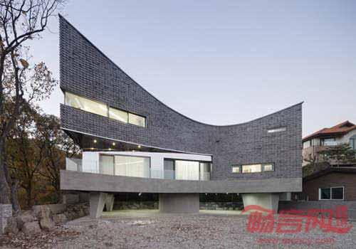 韩国室内房子框架结构图