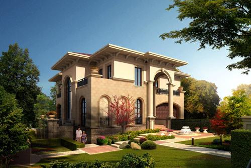 别墅庭院景观设计初探