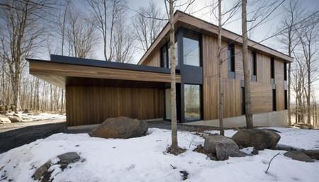 加拿大建筑師設計真正的鄉村別墅