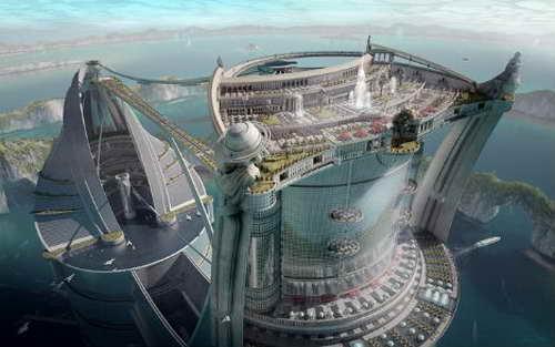 移动城市 幻想中的未来居住空间