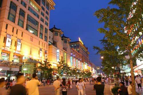 步行街 街道 街景 商业街 500_332