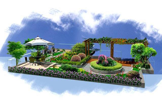 成立专门的屋顶花园设计