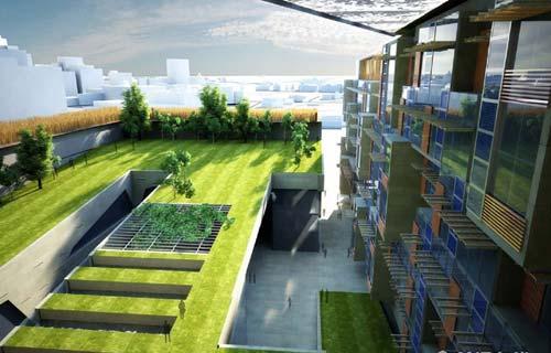 """内蒙古规划设计院:""""绿色建筑""""引领未来城市发展"""