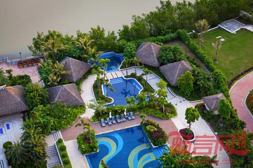 三亚凤凰水城凯莱度假酒店景观设计