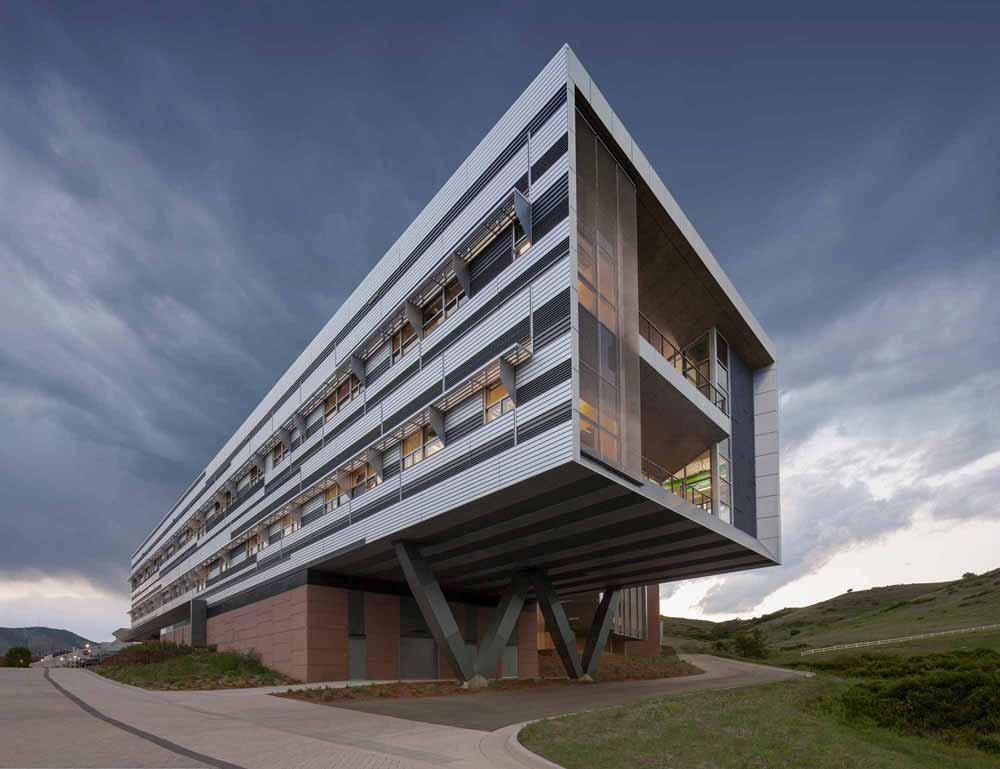 建筑设计:smithgroupjjr    建筑地点:美国golden    建筑面积