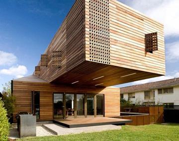 木材用于住宅建筑中,从地基到框架结构,从框架系统到屋面桁架,从地板