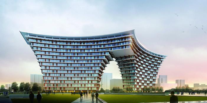"""重点培育""""环同济""""建筑设计产业集群,开拓和进军国际国内高端建筑设计"""