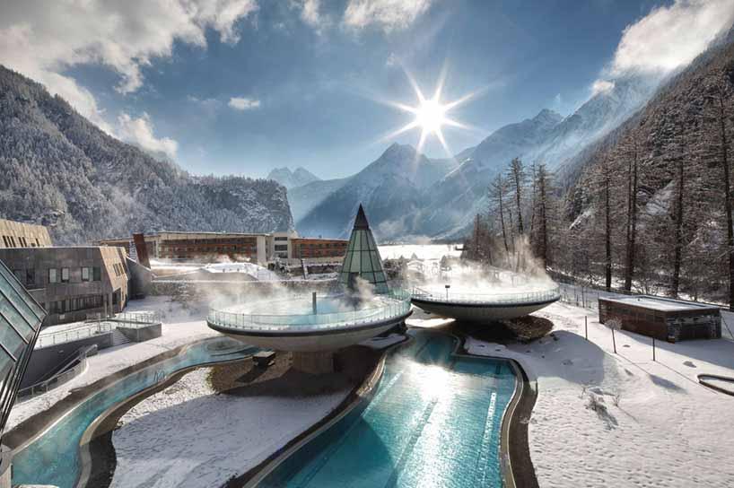 奥地利:水穹顶温泉度假村