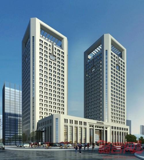 """济南报业大厦的顺利封顶,标志着她将与""""一院三馆""""共同构筑西部新城新"""