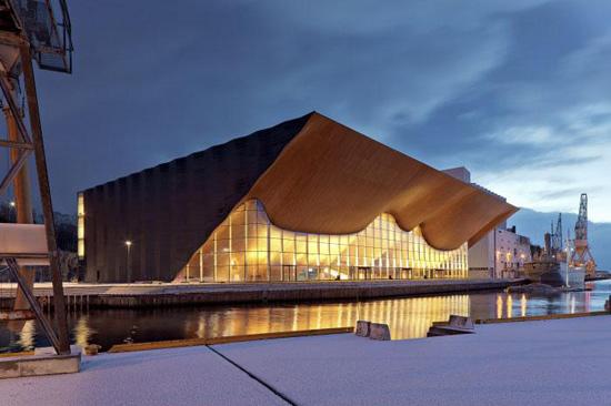 藝術感的建筑設計圖