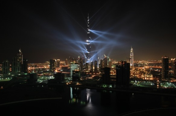 dubai位于迪拜哈利法塔广场