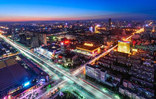 夜幕下的石家庄-石家庄市城市总体规划 2011 2020年 解读