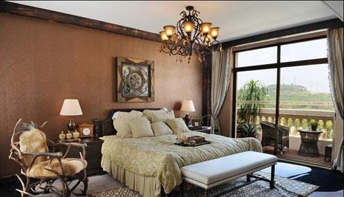 法式田园风格卧室图片