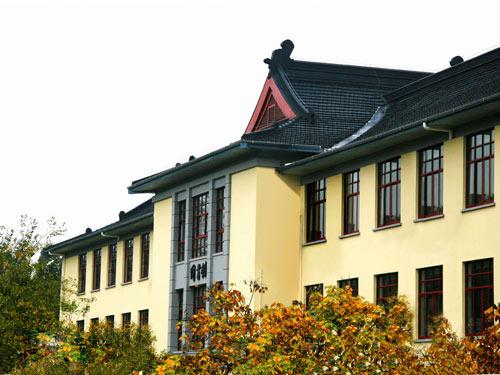 南林大的老图书馆楼(一)-南京林业大学