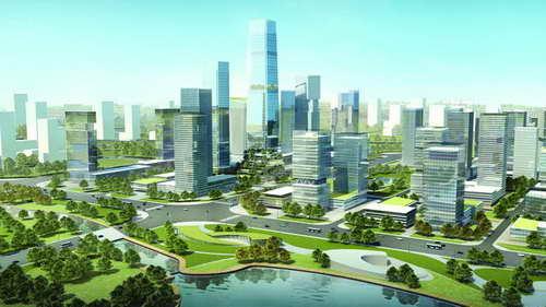 济宁北湖城市中心商务区