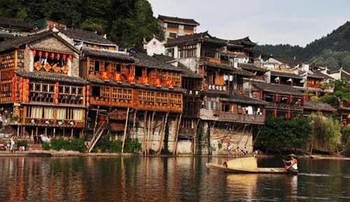 中国最美民居建筑--湘西吊脚楼