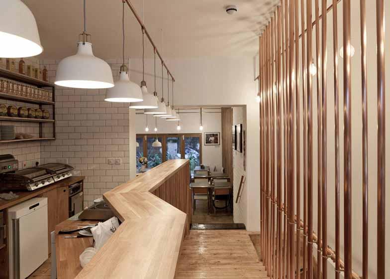 欧式咖啡厅屏风隔断
