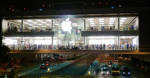 苹果商店下载_苹果手机店名片图片模板下载图片编号12156
