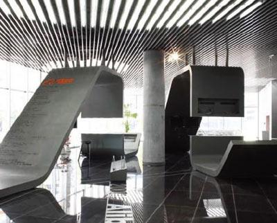 阿里巴巴杭州油压办公总部欣赏虎钳家具mc图片