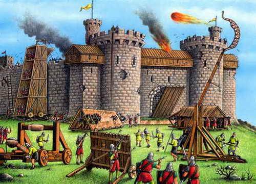 通常确切意义上的中世纪城堡并不包括古罗马的