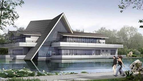 中国传统元素在现代公共建筑中的应用
