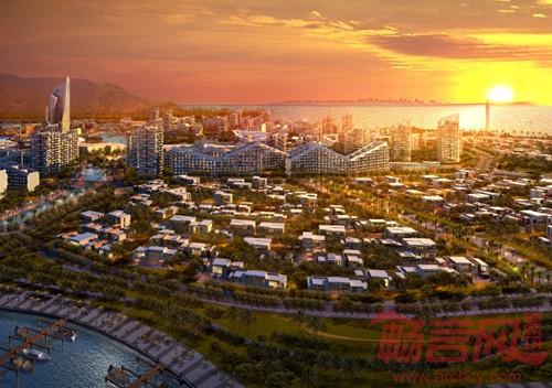 漳州开发区人工岛概念规划