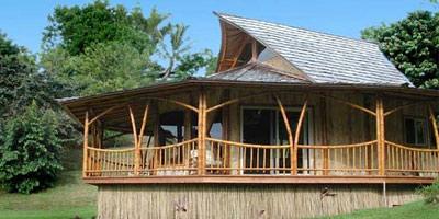 竹子是房屋建造和其它结构最古老的建筑材料之一.