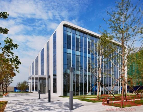 固安卫星导航产业港展示中心 -- 建筑畅言网图片