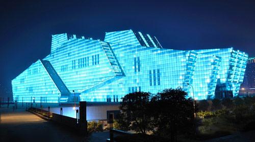 重庆大剧院图片
