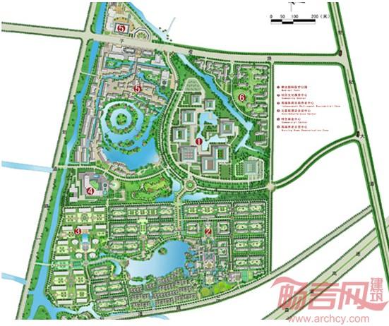 乌镇飞机场规化图