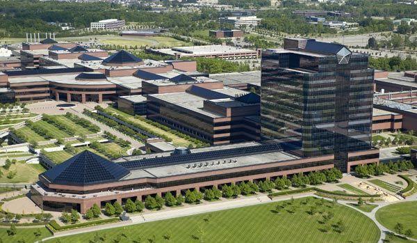美国:auburn hills克莱斯勒科技中心