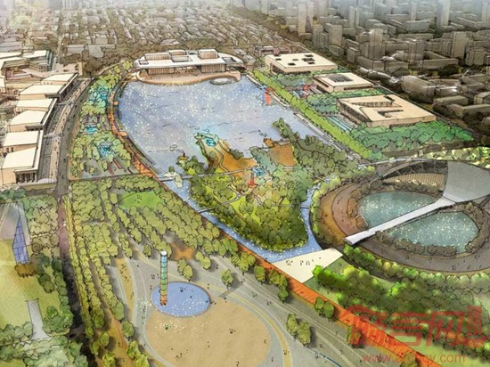 天津文化中心城市设计