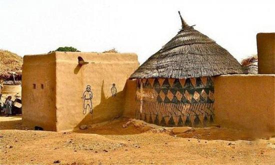 揭秘非洲部落不一样的日常生活,_发型设计图片