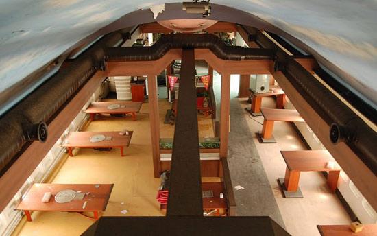 飞机餐厅 -- 建筑畅言网