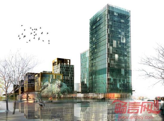 方兴青岛高新区滨河示范区 -- 建筑畅言网