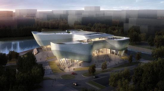 宁波城市规划展览中心设计