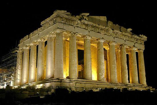 希腊帕特农神庙