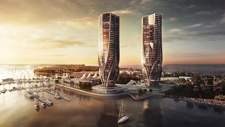 澳大利亚:黄金海岸双子楼