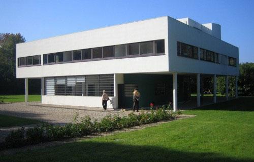 萨伏伊别墅(the villa savoye)是现代主义建筑的经典作品之一,位于