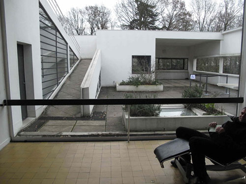 萨伏伊别墅花园别墅日式平面图图片