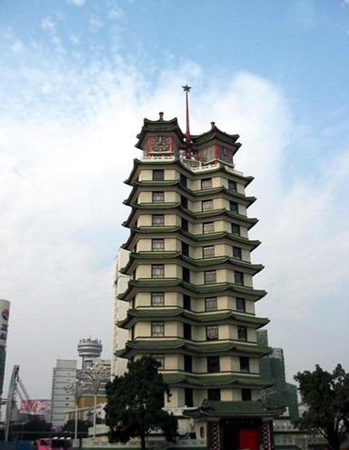 二七纪念塔 -- 建筑畅言网