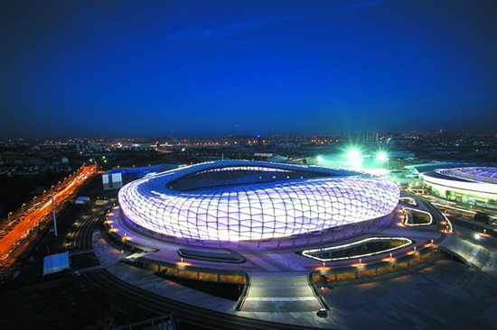 wa技术进步奖之佳作奖:大连市体育中心体育场及体育馆