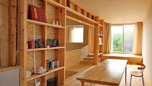 卧室木结构装修图片效果图