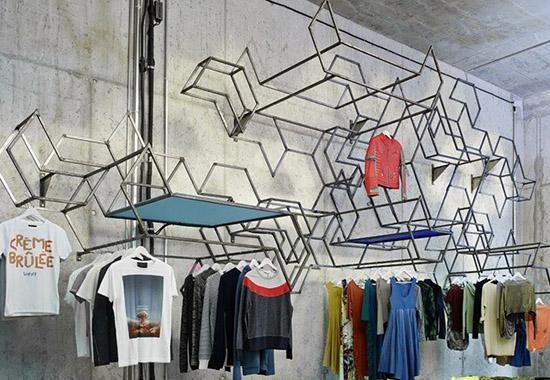 德国stoffsuchtig工业风格服装店