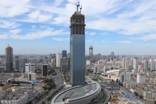 天津117大厦,又称高银金融117大厦,位于天津滨海高新技术产业园区
