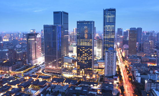 成都国际金融中心 -- 建筑畅言网